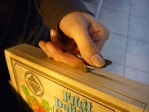 Maniglia cigarbox